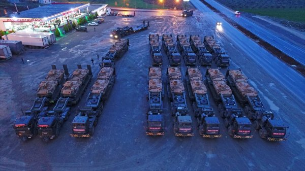 Takviye birlikler sınırda
