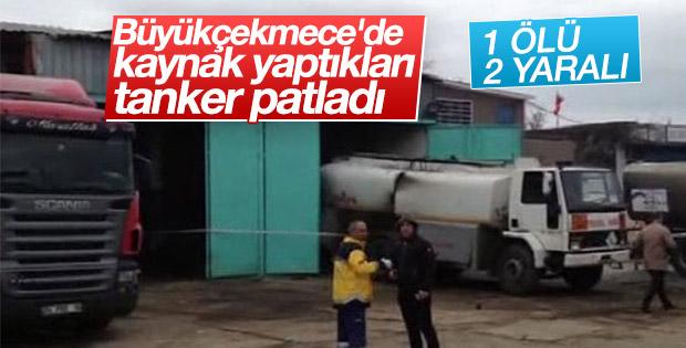 İstanbul'da benzin istasyonunda patlama: 1 ölü, 2 yaralı