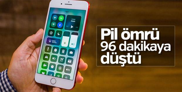 iOS 11'de batarya problemi