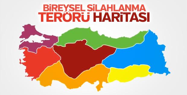 Türkiye'de bireysel silahlanmanın önüne geçilemedi