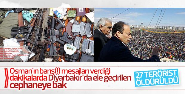Diyarbakır ve Bingöl'de 27 terörist öldürüldü