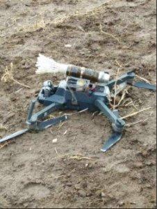 PKK'lı teröristlerin bombalı drone'u ele geçirildi