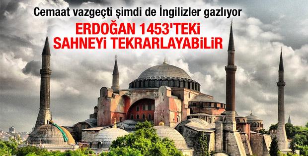 Economist: Erdoğan Ayasofya'da namaz kılacak