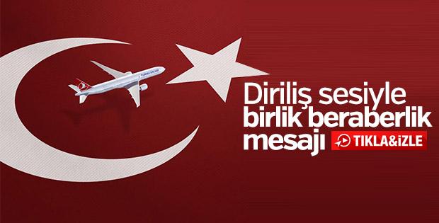 Türkiye'nin bayrak taşıyıcı markası THY'nin yeni reklamı yayında
