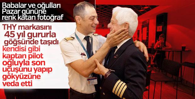 THY'nin 45 yıllık pilotu Kemal İnce emekli oldu