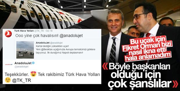 Beşiktaş'ı THY uçuruyor