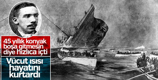 Konyak içip Titanik'ten sağ çıkan adam: Charles Joughin