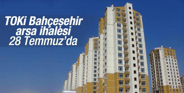 TOKİ'nin Bahçeşehir arsası ihaleye çıkıyor