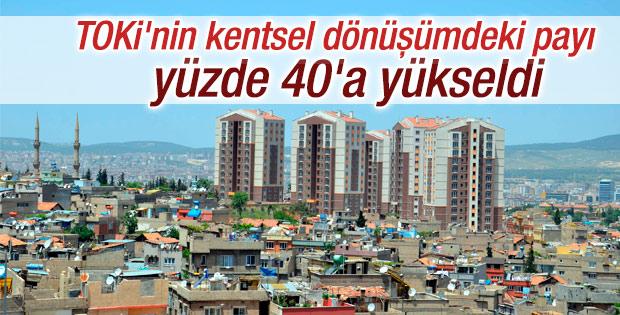 TOKİ 54 ilde dönüşümle 240 bin konut inşa ediyor
