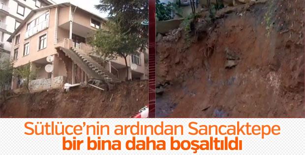 İstanbul'da bir bina daha yıkılmaya karşı boşaltıldı