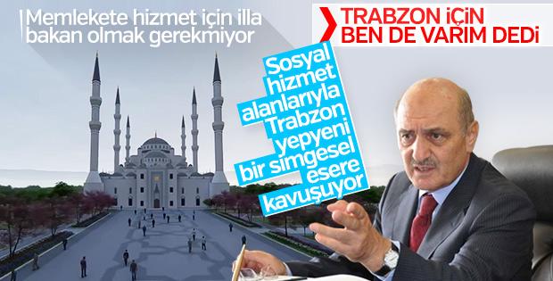 Trabzon Şehir Camii'nin ilk görüntüleri