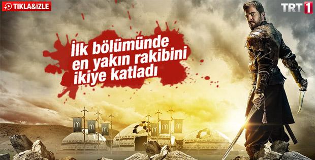 TRT'nin Diriliş dizisinden muhteşem başlangıç