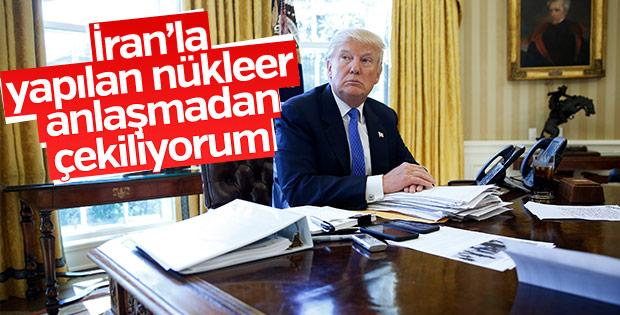 Trump nükleer anlaşma kararını açıkladı