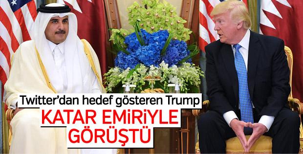 Trump Katar Emiri ile telefonda görüştü