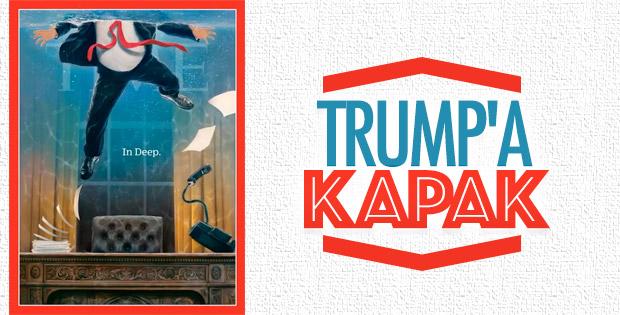TIME dergisinden Trump kapağı