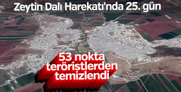 Arşali köyü teröristlerden temizlendi