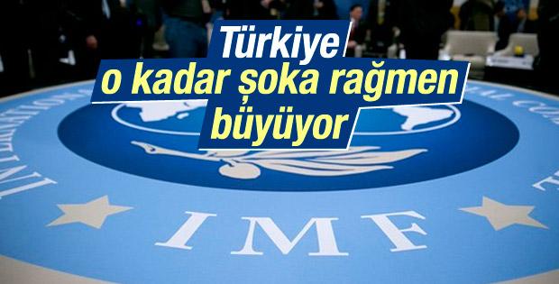 IMF: Türkiye çeşitli şoklara rağmen büyüyor