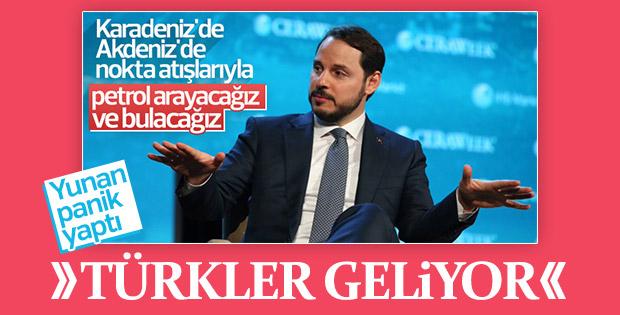 Türkiye'nin sondaj çalışmaları Yunan medyasında