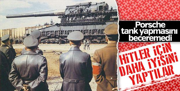 Hitler'in Nazi tankları