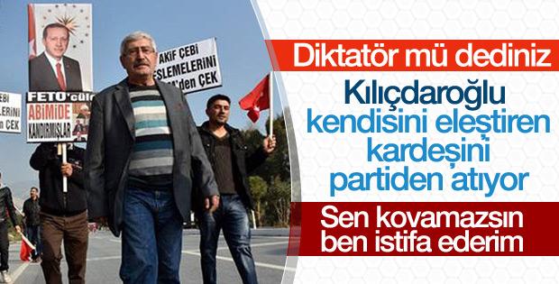CHP'de Kılıçdaroğlu'nun kardeşine ihraç istemi