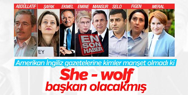 Time dergisi Meral Akşener'e oynuyor
