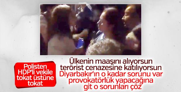 Polisten HDP'li milletvekiline ayar