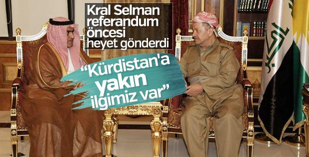 Barzani Suudi Arabistan heyetini kabul etti