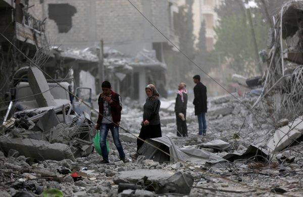 Saudi Arabia's decision to help Syria