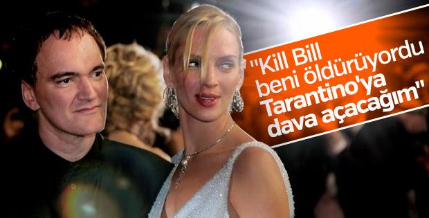 Uma Thurman: Kill Bill beni öldürüyordu