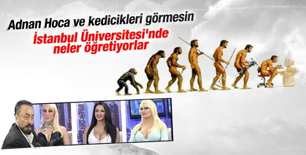İstanbul Üniversitesi Adnan Oktar'ı kızdıracak