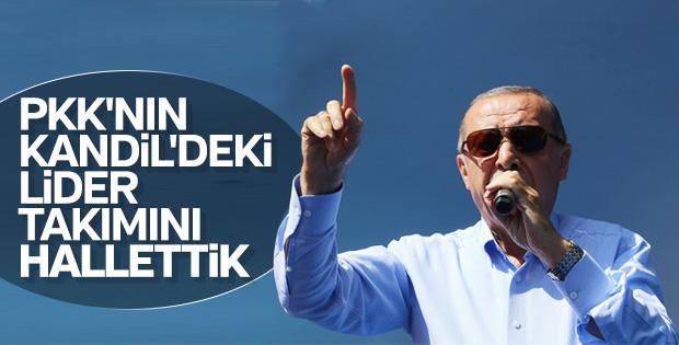 Cumhurbaşkanı Erdoğan'ın Şanlıurfa konuşması
