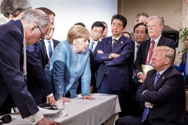 Trade crisis took center stage at G7 summit