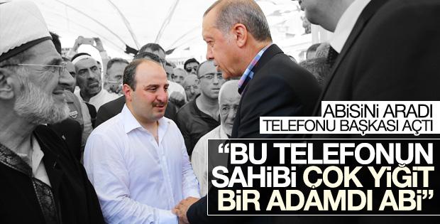 Mustafa Varank kardeşinin şehit olduğunu telefondan öğrendi