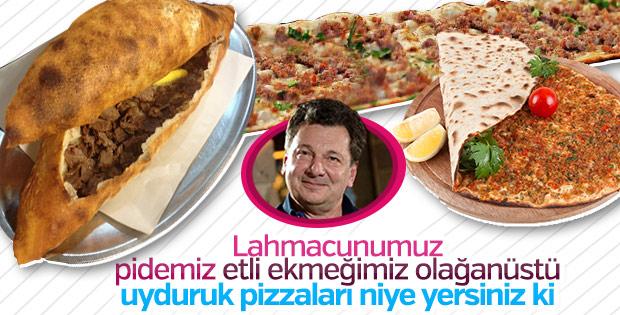 Vedat Milor pizzaya olan ilgiyi eleştirdi