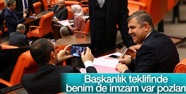 Anayasa teklifi imzaya açıldı