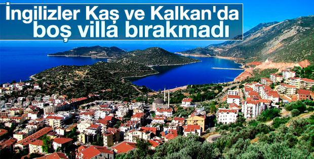 İngilizler Antalya'da boş villa bırakmadı