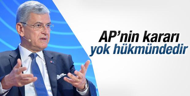 Volkan Bozkır: AP'nin kararı yok hükmündedir