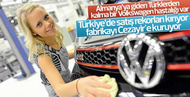 Volkswagen Cezayir'e fabrika kurdu