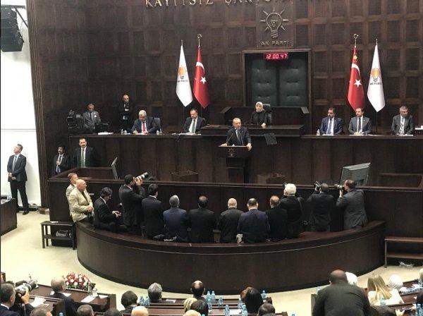 Başkan Erdoğan AK Parti grup toplantısında