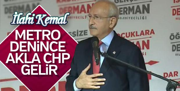 CHP lideri özgüvenle konuştu: Metro denince akla CHP gelir
