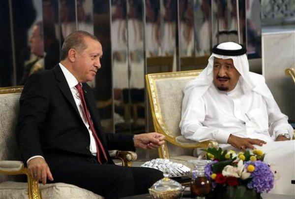 Başkan Erdoğan'dan Kral Selman'a: Başkonsolosunuz lakayıt