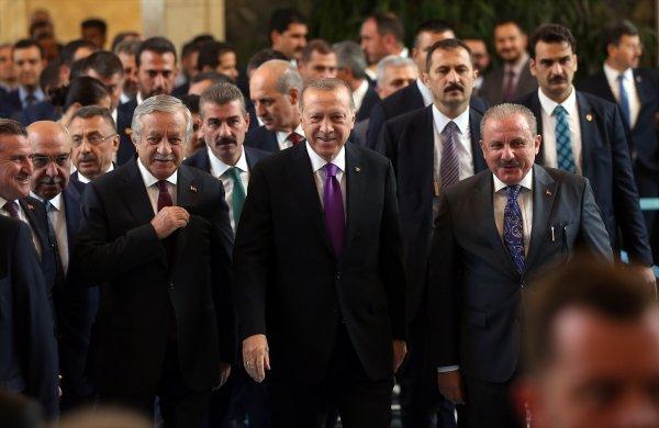 Başkan Erdoğan Meclis'e geldi