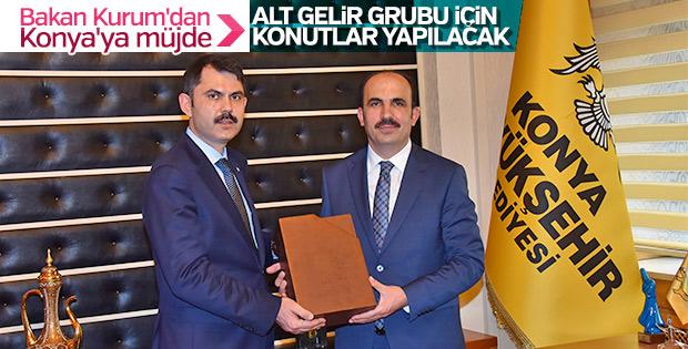 Bakan Kurum: Konya'da alt gelir grubuna konut yapılacak