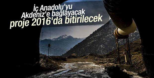 Demirkapı Tüneli 2016 yılında bitirilecek