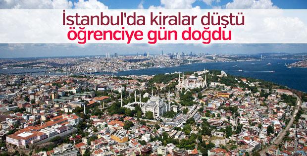 İstanbul'da kiralar düştü öğrenciye gün doğdu