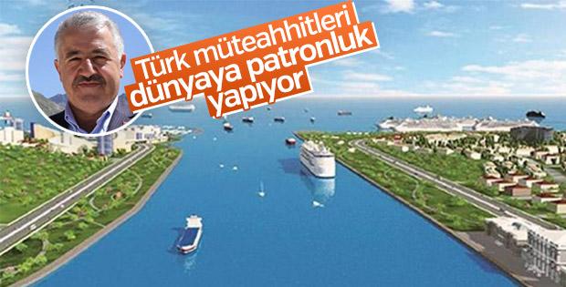 Arslan: Türk müteahhitleri dünyaya patronluk yapıyor