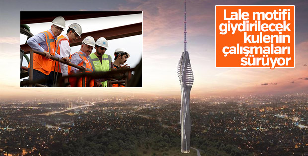Çamlıca TV Radyo Kulesi inşaatı sürüyor