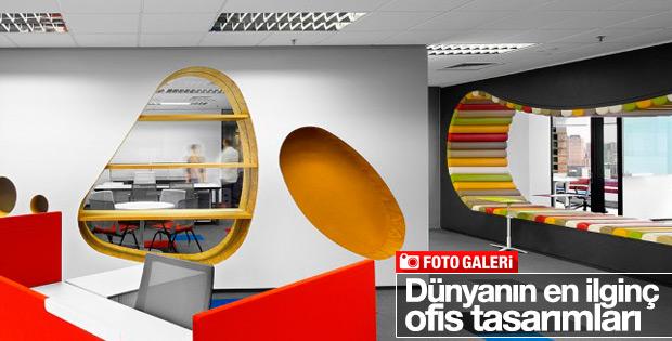 Dünyanın en ilginç ofis tasarımları