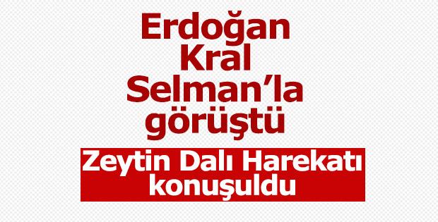 Erdoğan Selman ile telefonda görüştü
