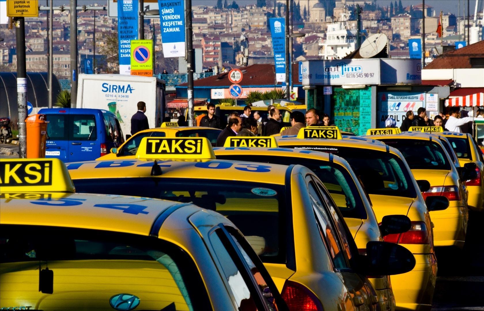 istanbul taksiler ile ilgili görsel sonucu